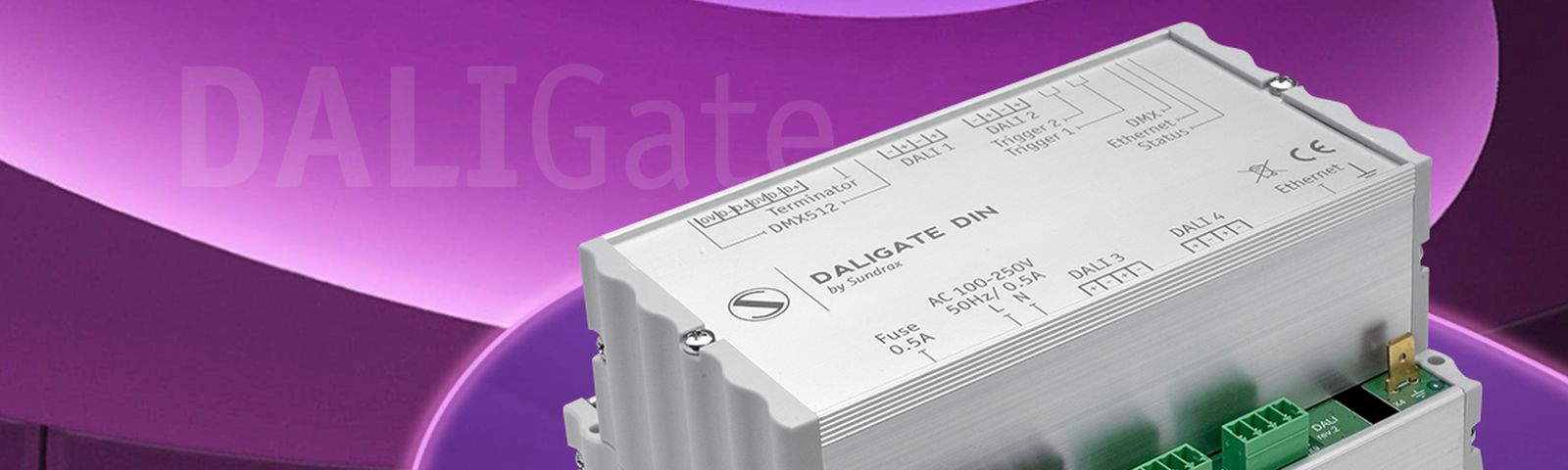 Firmware update for<br>DALIGate DIN: ArtNet/DMX/DALI converter