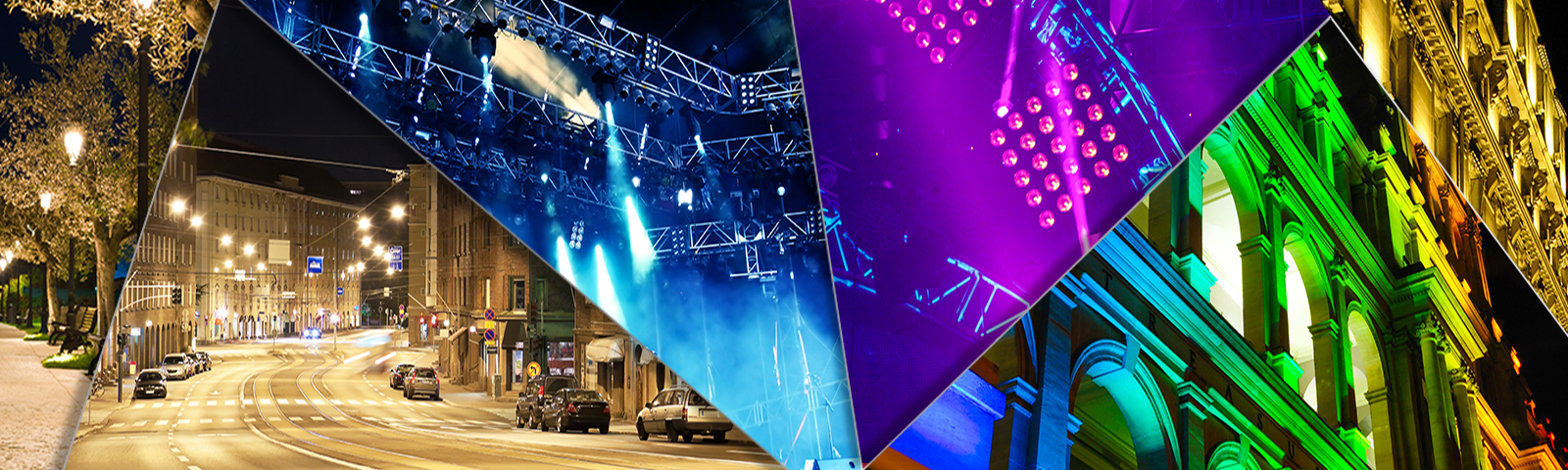 Control solutions for street, architectural and entertainment lighting