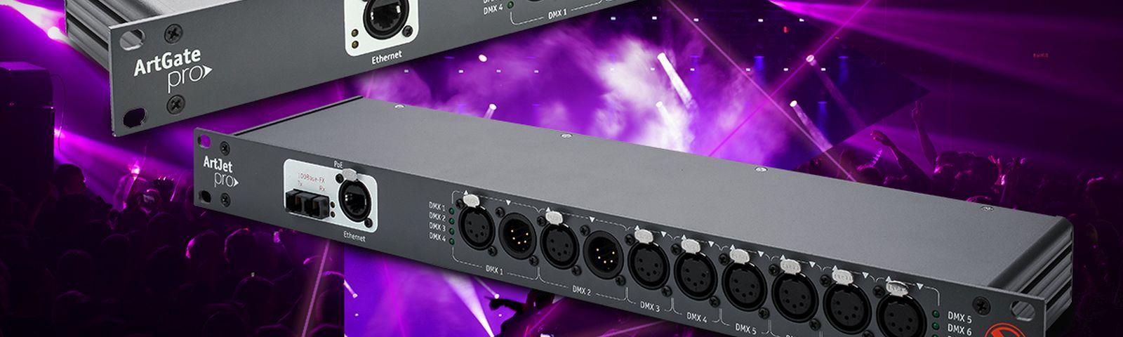 New firmware for ArtGate/ArtJet Ethernet-DMX nodes