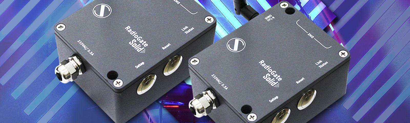 New generation of RadioGates, wireless DMX transceivers
