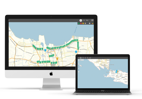 QULON Software Maps Jakarta