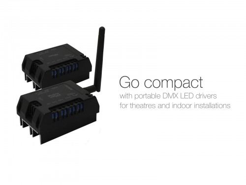 LEDGate Compact — DMX LED Driver