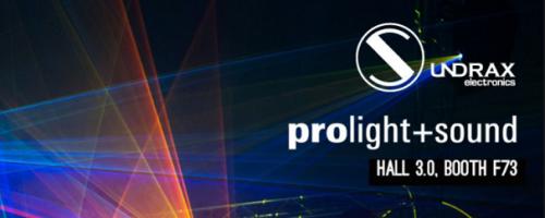 Sundrax at Prolight Sound