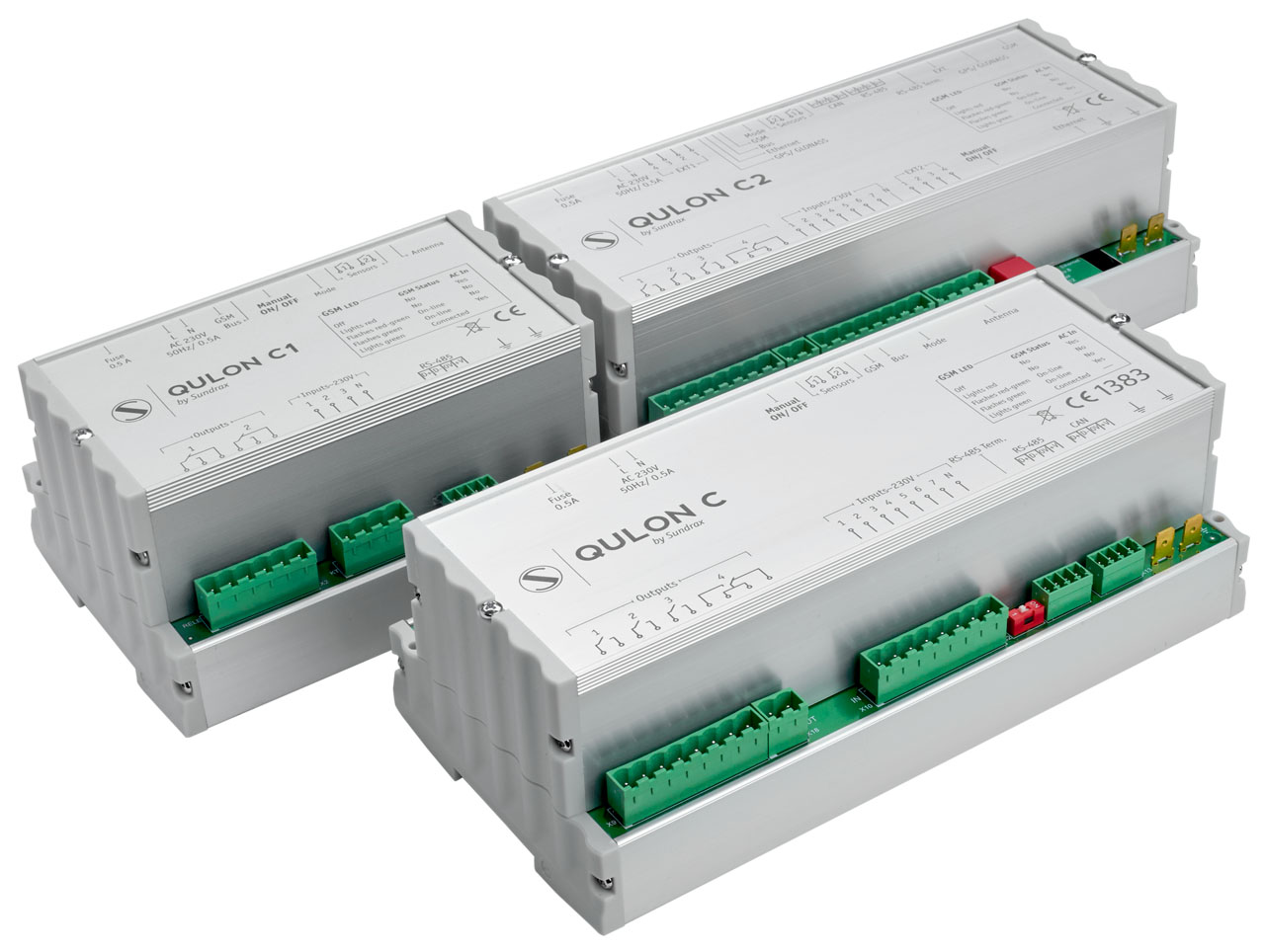 QULON C, QULON C1, QULON C2 — Gateways for Remote Lighting Control