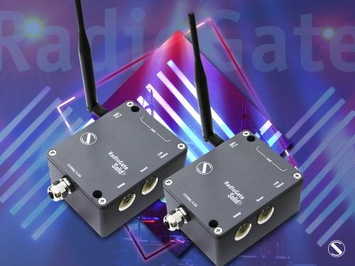 new family of RagioGates wireless DMX transceivers