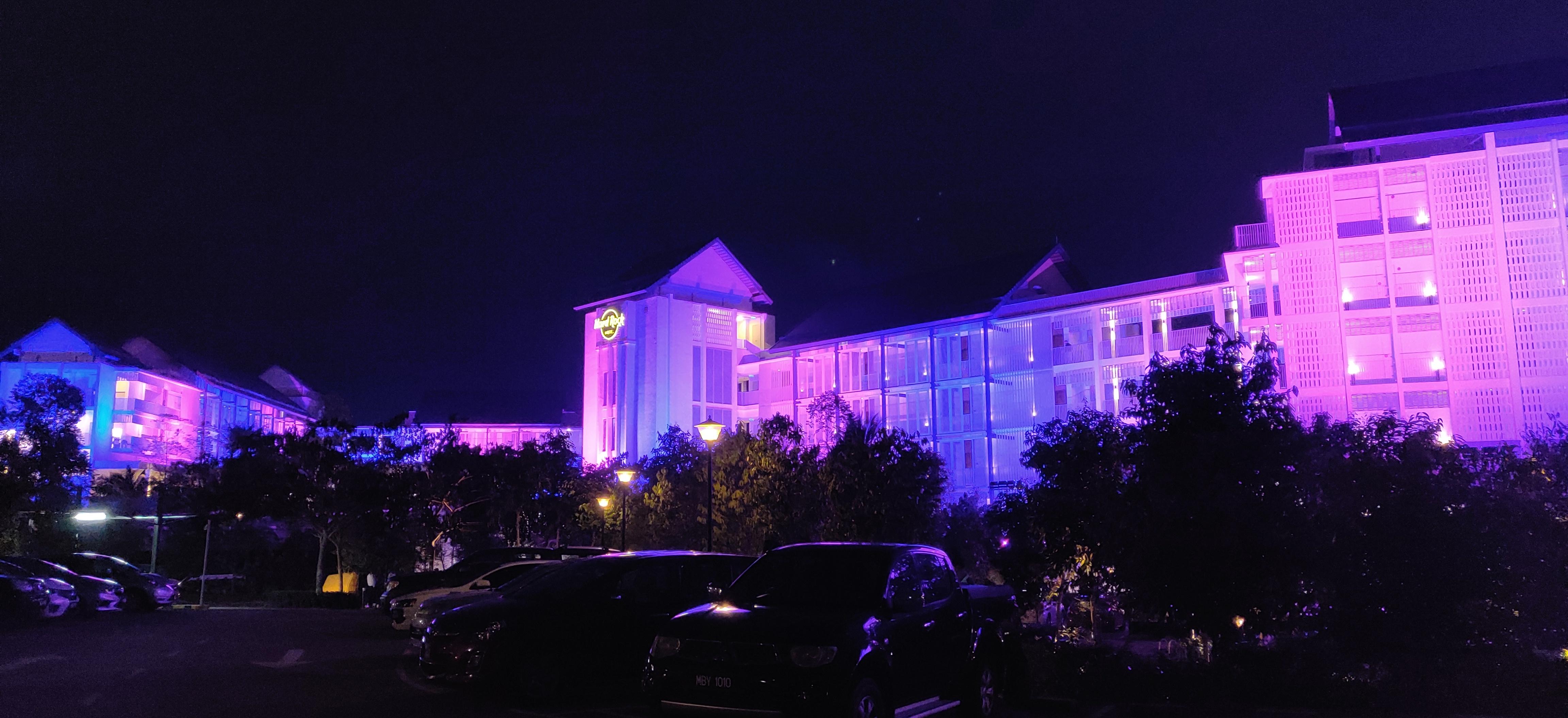 Lighting for Hard Rock Hotel Desaru Coast in Malaysia